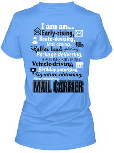 I am a Mail Carrier T-Shirt