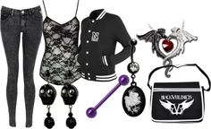 """""""Untitled"""" by littlemisstoxin on Polyvore"""