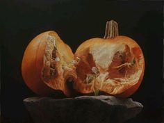 Rafael de la Rica - Carabassa - 115x157 cm - Oil in wood