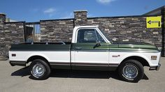 1971 Chevrolet Cheyenne Pickup 350 CI, Automatic presented as lot T66 at Houston, TX 2016 - image2
