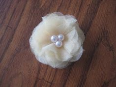 Tulle flowers for headbands