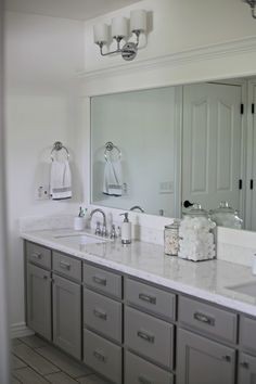 After living in our home for three years our master bathroom was the last to get updated. After renovating the main floor and kitchen I...