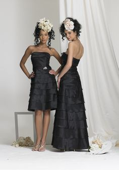 $147.99 Buy A-line Black Multi-layer Beads 2015 Bridesmaid Dresses 2015BD-3981 Online Cheap Prices
