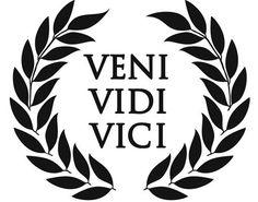 #veni #vidi #viciVeni Vidi Vici