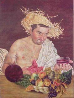 'Baccus ' by Nuno Quaresma on artflakes.com as poster or art print $15.77