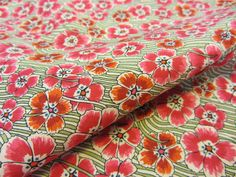 Ellie Ruth Pink - Love this from Tessuti Fabrics
