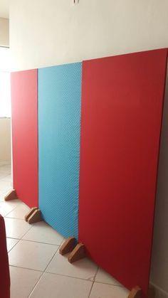 ideias em casa painel de tecido decoracao festa diy