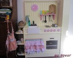 upcycled play kitchen - Google Search