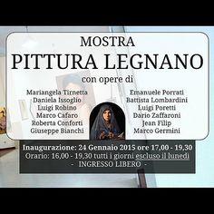 Mostra collettiva di fine Gennaio - Ass. Antonello Da Messina - #legnano #santonania   Flickr - Photo Sharing!