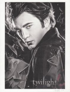 I know it has been awhile, but here is my latest drawing. This is Robert Pattinson as Edward Cullen from the movie version of Twilight. Saga Art, Twilight Saga, Twilight Pics, Edward Cullen, Robert Pattinson, Deviantart, Drawings, Artist, Movie Posters