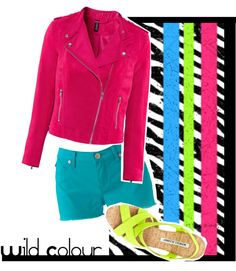 """""""Wild colour"""" by habbeyheartz on Polyvore"""