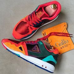 c308d4fbf4cc Le Coq Sportif · Normally I avoid colorful loud pair but this pair is an  exception.