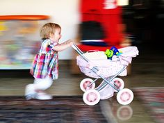 hurry up!  (Carlotta @1 year)