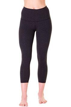 8e42aae2bc83d 90 Degree By Reflex – High Waist Cotton Power Flex Capri. Yoga CaprisYoga  Pants90 Degree By ReflexBiceps WorkoutTummy ...