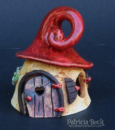 Ceramic Fairy House handmade by FairyDreamCeramics on Etsy