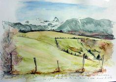 Promenade en vallée d`Ossau, entre Buzy et Bescat sur un chemin de transhumance