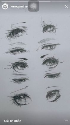 Drawing techniques, eye sketch, realistic eye drawing, anatomy drawing, m. Anime Drawings Sketches, Pencil Art Drawings, Anime Sketch, Eye Drawings, Eye Sketch, Pencil Sketching, Eye Drawing Tutorials, Drawing Techniques, Drawing Tips