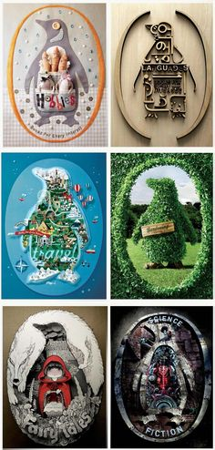 Advertising Agency: Y, Malaysia  http://www.ibelieveinadv.com/2012/10/penguin-books-hobbies-fiction-travel-languages-gardening-fairy-tales/