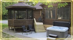 Hocking Hills Ohio Secluded Sanctuaries   Bird Friendly, Pet Friendly,  Cabins In The Hocking Hills.
