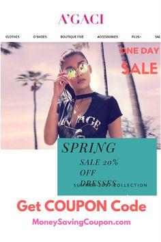 ed82996a8a Save 20% off all regular price dresses at Agaci.com. Use coupon Code