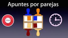 Dinámicas simples de trabajo cooperativo: Apuntes por parejas