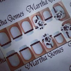 .. Projects To Try, Stickers, Nails, Glitter Nail Art, Nail Stickers, Nail Jewels, Nail Arts, Nail Bling, Flower