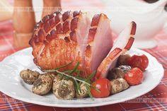 Staropolska szynka Polish Food, Polish Recipes, Sausage, Pork, Food And Drink, Meat, Kitchen, Kale Stir Fry, Cuisine