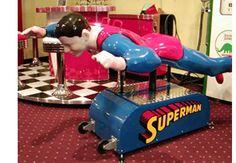 weird....ride on Superman