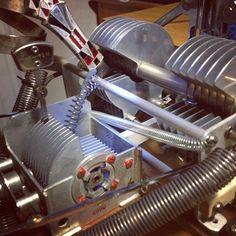 - mutunt metal spring coil sculpture instruments by Bill T Miller. http://billtmiller.blogspot.com