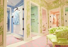 Dressing Rooms at Lilly Pulitzer Riverside