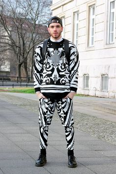 KTZ outfit styled by #Berlin men's fashion blog, Starecasers #printedmatter