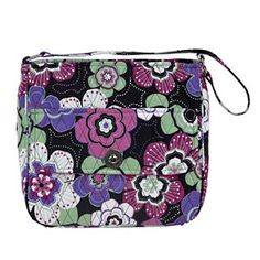 Petal Me Pretty City Shoulder - New for Spring 2015, the City Shoulder Bag has a large main compartment perfectly sized for a tablet, planner, or water bottle, and the external turn-lock pocket adds added security for smaller items such as cellphones, passport and keys. The candy colors of Petal Me Pretty are sure to brighten up your look this Spring.  The inside has 2 slip and 1 zip pocket, the outside has 1 slip pocket with a flap and turn-lock closure. The nonadjustable strap is 22x1
