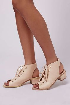 NADIA Lace Up Shoe Boot