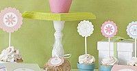 Banderitas para Cupcakes   Descargables Gratis para Imprimir: Paper toys, Origami, tarjetas de Cumpleaños, Maquetas, Manualidades, decoraciones fiestas, dibujos para colorear. Printable Freebies, paper and crafts