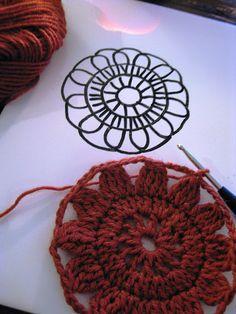 VMSomⒶ Koppa: crochet flower square - Help