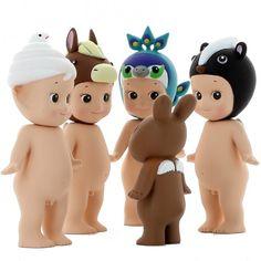 Sonny Angel Animal série 4 - 1 figurine au hasard - Les petits + - Motif Personnel