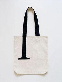 Serif Tote Bag