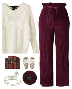 """25 days till Christmas"" by genesis129 ❤ liked on Polyvore featuring Topshop, Christmas, burgundy, fashionset, ChristmasSeries and 25daystillchristmas"