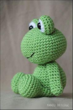 Mesmerizing Crochet an Amigurumi Rabbit Ideas. Lovely Crochet an Amigurumi Rabbit Ideas. Crochet Frog, Crochet Bunny Pattern, Crochet Amigurumi Free Patterns, Crochet Animal Patterns, Cute Crochet, Crochet Animals, Crochet Dolls, Crochet Baby, Crochet Stitches