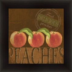 PEACH decor kitchen decor | visit ebay com
