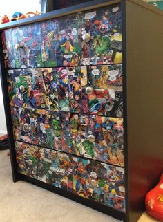 Custom Superhero Comic Book Dresser!!