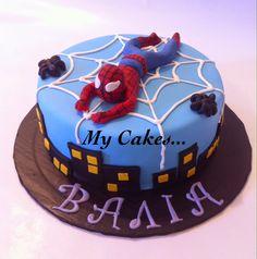 My Cakes...: ΤΡΙΣΔΙΑΣΤΑΤΕΣ ΠΑΙΔΙΚΕΣ ΤΟΥΡΤΕΣ Birthday Cake, Pasta, Decoration, Sweet, Desserts, Food, Decor, Candy, Tailgate Desserts