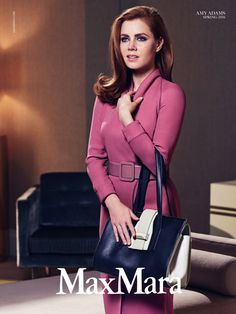 Amy Adams for Max Mara Accessories Spring Summer 2016