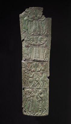 Quiver Plaque Western Iran, Luristan bronzes, circa 1000-650 BCE.