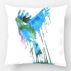 Artistic Bird Pillowcase