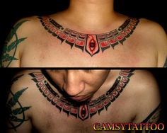 Haida Chest Tattoo by camsy.deviantart.com on @deviantART