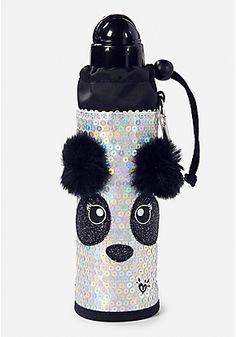 Sparkle Panda Sleeved Water Bottle