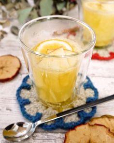 生姜のチカラで体の芯からポカポカに(^^)  りんご、はちみつ、レモンと組み合わせれば、免疫力アップの最強ドリンク!  おもてなしにも喜ばれますよ〜!!