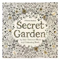 Secret Garden colouring book - Colouring - Home & Kitchen - Gifts & Home