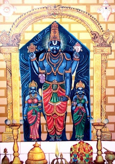 Chilkur Balaji temple is located on the banks of Osman Sagar Lake in the village. Chilkur Balaji temple is located on the banks of Osman Sagar Indian Temple, Hindu Temple, Hindu Deities, Hinduism, Save Mother Earth, Lord Balaji, India Painting, Lord Vishnu Wallpapers, Indian Gods